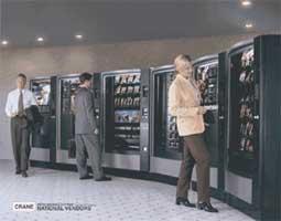Automatenstation Crane Merchandising